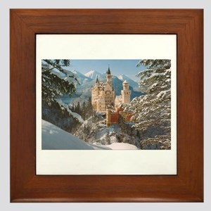 Neuschwanstein Castle Framed Tile