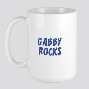 GABBY ROCKS Large Mug