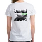 Paranormal Investigator T-Shirt -Women's (2-Sided)