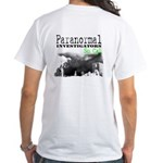 Paranormal Investigator T-Shirt - White (2-Sided)