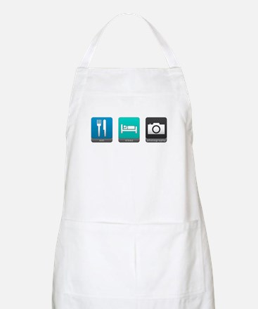 Eat, Sleep, Photography BBQ Apron
