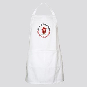 With God Cross HIV AIDS BBQ Apron