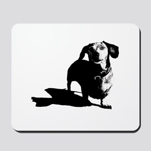 daschund sketch Mousepad