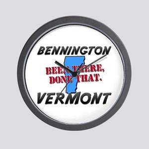 bennington vermont - been there, done that Wall Cl