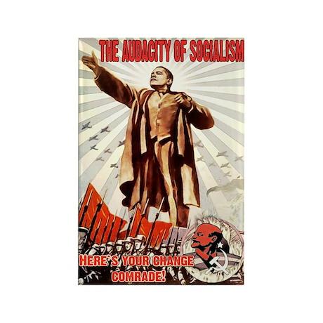 communist obama Rectangle Magnet (10 pack)