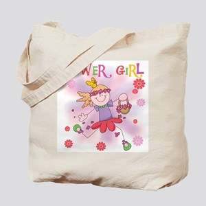 Funtime Flower Girl Tote Bag