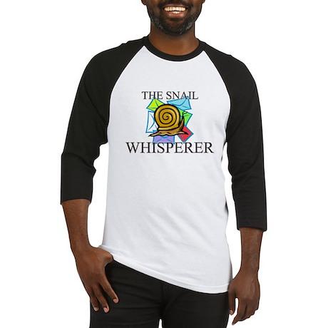 The Snail Whisperer Baseball Jersey