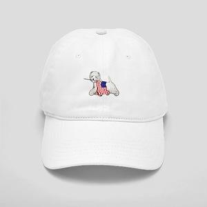 Patriotic Westie Cap
