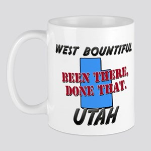 west bountiful utah - been there, done that Mug