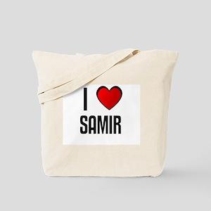 I LOVE SAMIR Tote Bag