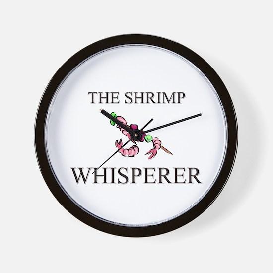 The Shrimp Whisperer Wall Clock