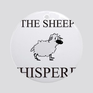 The Sheep Whisperer Ornament (Round)
