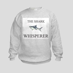 The Shark Whisperer Kids Sweatshirt