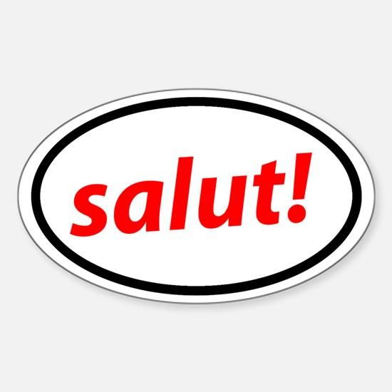 Salut! French Decal
