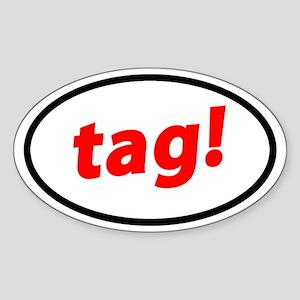 Tag! German Sticker
