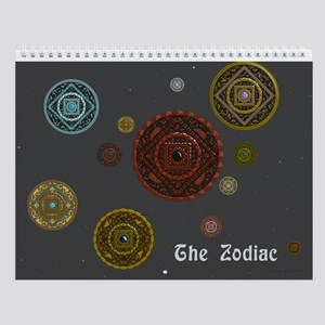 The Zodiac Wall Calendar