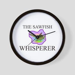 The Sawfish Whisperer Wall Clock