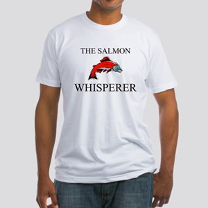 The Salmon Whisperer Fitted T-Shirt