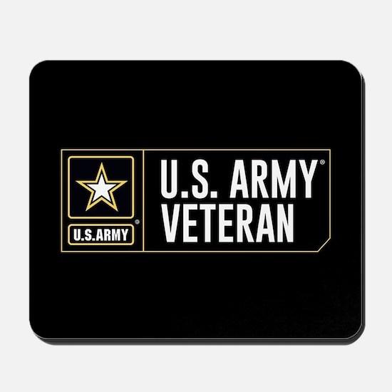 U.S. Army Veteran Logo Mousepad