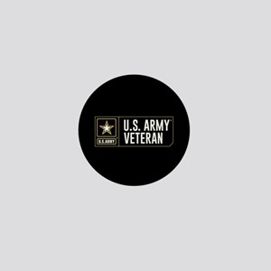 U.S. Army Veteran Logo Mini Button