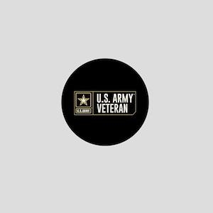 U.S. Army Veteran Logo Mini Button