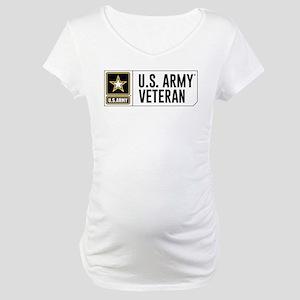 U.S. Army Veteran Logo Maternity T-Shirt