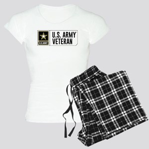 U.S. Army Veteran Logo Women's Light Pajamas