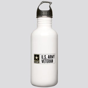 U.S. Army Veteran Logo Stainless Water Bottle 1.0L