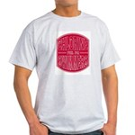 Chlorine - fuel for swimmers Ash Grey T-Shirt