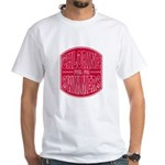 Chlorine - fuel for swimmers White T-Shirt