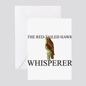 The Red-Tailed Hawk Whisperer Greeting Cards (Pk o