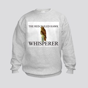 The Red-Tailed Hawk Whisperer Kids Sweatshirt