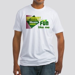Retirement Fun. Fitted T-Shirt