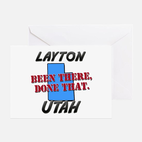 layton utah - been there, done that Greeting Card