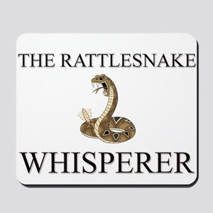 The Rattlesnake Whisperer Mousepad