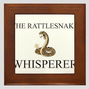 The Rattlesnake Whisperer Framed Tile