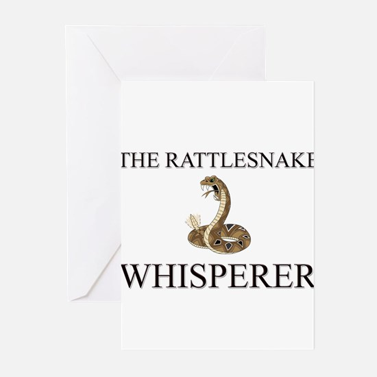 The Rattlesnake Whisperer Greeting Cards (Pk of 10