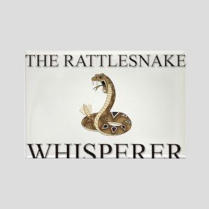 The Rattlesnake Whisperer Rectangle Magnet