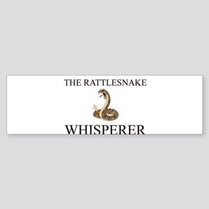 The Rattlesnake Whisperer Bumper Sticker