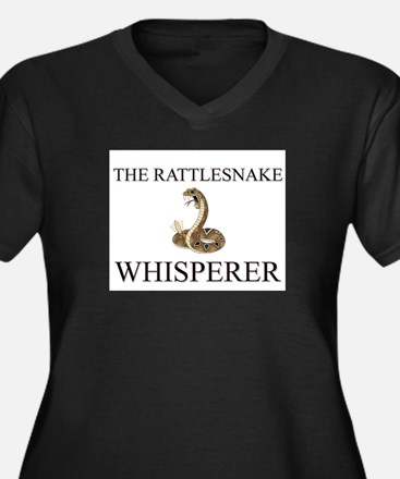 The Rattlesnake Whisperer Women's Plus Size V-Neck