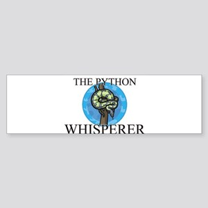 The Python Whisperer Bumper Sticker