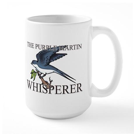 The Purple Martin Whisperer Large Mug