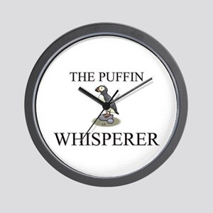 The Puffin Whisperer Wall Clock