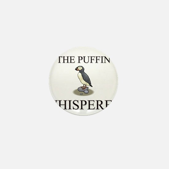 The Puffin Whisperer Mini Button