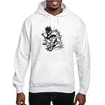 Dragon Calligraphy Hooded Sweatshirt