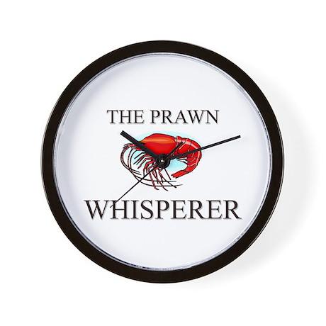 The Prawn Whisperer Wall Clock