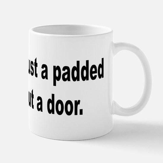 Padded Cell Cubicle Humor Mug