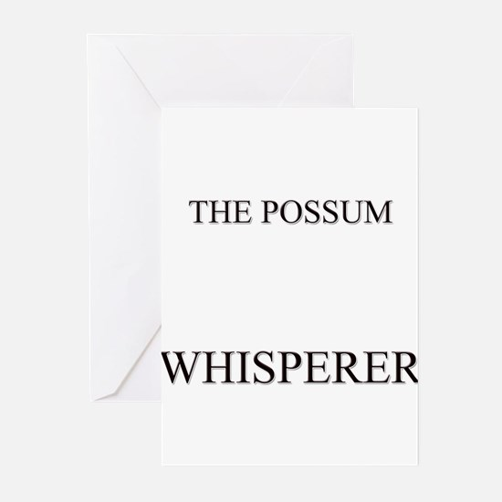 The Possum Whisperer Greeting Cards (Pk of 10)