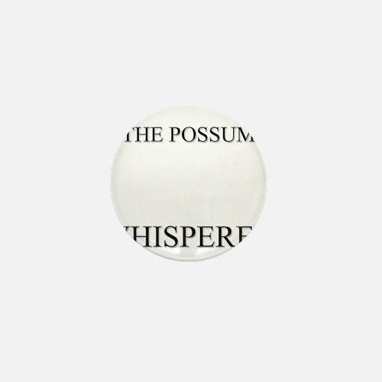 The Possum Whisperer Mini Button
