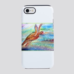 Sea Turtle! Wildlife art! iPhone 7 Tough Case